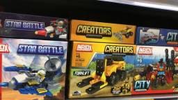 Título do anúncio: Brinquedo de Montar somente 25 reais a unidade