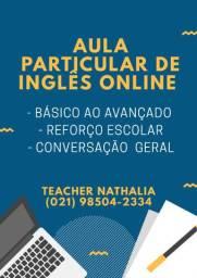 Aula Particular de Inglês Online