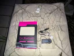 Adaptador bluetooth para carro ou som de casa com entrada auxiliar