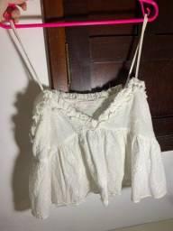 Blusinha Bordada Zara