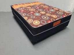 Cama Box Casal de molas bonnel