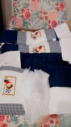 Título do anúncio: Kit mini berço com 8 peças 90,00