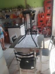 Título do anúncio: Vendo Churrasqueira elétrica em uma mesa 4 cadeiras