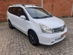Título do anúncio: Livina Nissan grand sl 1.8 flex fuel automatico  7 lugares banco couro