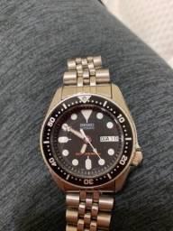 Título do anúncio: Relógio seiko scuba divers skx013 midsize 38mm