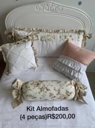Kit de almofadas para berço ou cama infantil
