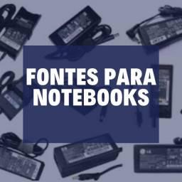Título do anúncio: Fonte para notebook de varios modelos com garantia