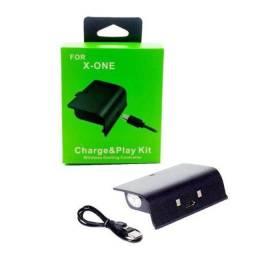 Título do anúncio: Kit Bateria + Carregador P/ Controle Xbox One Recarregavel