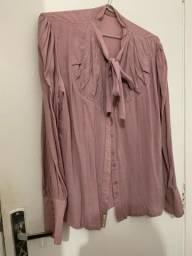 Título do anúncio: Blusa nude de manga comprida