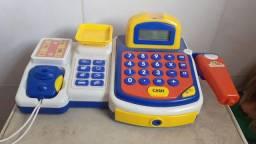 Título do anúncio: Bonecas e caixa registradora, 100 reais as 5 bonecas e a caixa 100