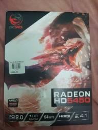 Título do anúncio: Placa de vídeo Radeon HD5450