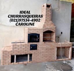 Churrasqueira e Telhado Colonial / 023