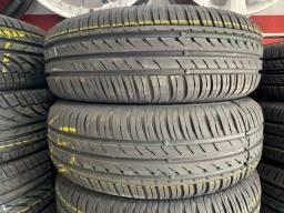 Título do anúncio: (02) Par de pneus 185/65/14 instalados