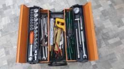 Caixa de ferramentas Cargobox 5 gavetas 65 peças em cromo vanádio