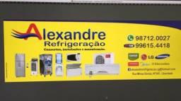 Conserto de geladeira e ar-condicionado