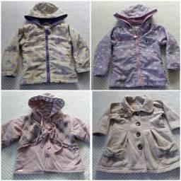 Lote roupas menina ( tamanho 1/2)