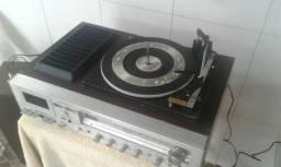 Toca disco Sharp 3 em 1