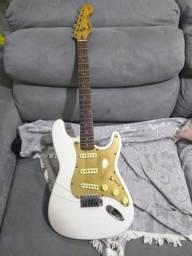 Fender Squier Branca / Dois Captadores Lace Sensor/ Leia o Anúncio