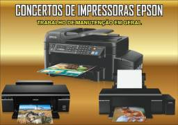 Concertotos em Geral de Impressoras da Marca Epson