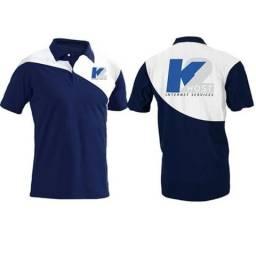 Camisa Gola Polo Uniforme - Camisa Polo Personalizada - Produção apartir 1 peça