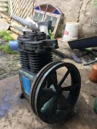 Cabeçote compressor 2 cilindros