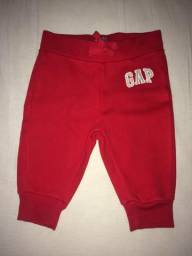 Calça GAP pra bebê de 6 a 12 meses