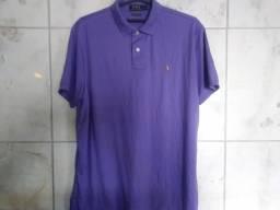 8a8d840d04 Camisa Polo Ralph Lauren Tamanho XG 58cm Largura Nova Original Importada