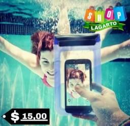 Capinha prova d'água? economize até 15 reais!!