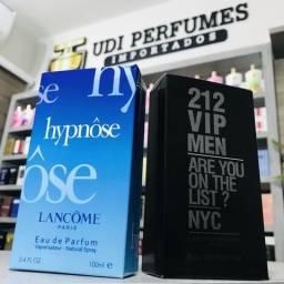 Perfume 212 VIP Men Carolina Herrera 100ml ou Hypnôse Lancôme 100ml