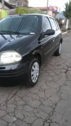 Renault Clio 1.0 8 válvulas 4 portas completo - 2001