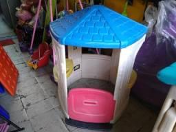 Casinha little tikes crianças playground comprar usado  São Paulo