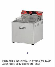 Fritadeira Industrial Eletrica 23 Litros Semi Nova