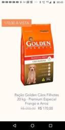 Ração Golden filhote 20 kg Premium especial ZAP *