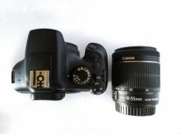 Vendo Dslr Canon T6 + Lente EF-S 18-55mm Is STM