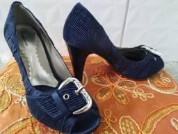 Sapato social feminino Azul Marino Escuro