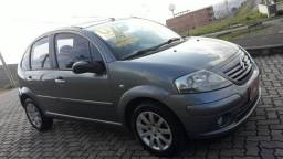 CITROËN C3 2006/2007 1.6 EXCLUSIVE 16V FLEX 4P MANUAL - 2007