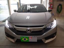 New Civic Exl Top Único Dono Baixo Km Impecável - 2018