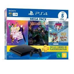 Playstation 4 Slim de 1TB com 5 jogos
