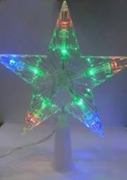 Estrela de Led Enfeite de Natal