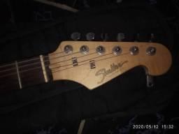 Guitarra shelter strato modelo custom hand made, usado comprar usado  Abreu e Lima