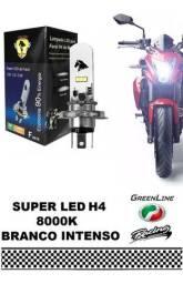 Lâmpada Led Farol H4 Moto Xre 300 Falcon Titan 125 150 160 (Entrega Grátis)
