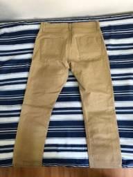 Calça Skinny em Sarja (38) - Blue Steel