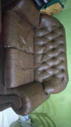 Sofa de couro