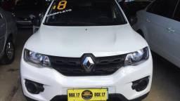 Renault kwid zen completo com gnv , primeira prestaçao paga por conta da loja