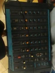 Mesa 6 canais mais amplificador