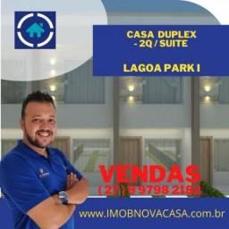 Casa no lagoa Park 1 em Linhares  - ES