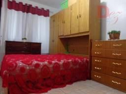 Apartamento com 1 dormitório para alugar, 56 m² por R$ 1.300,00/mês - Vila Assunção - Prai