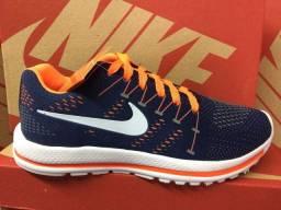 Tênis Nike Azul e Laranja (Frete Gratis)