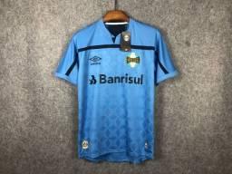 Camisa Grêmio celeste 2020 TAM: GG