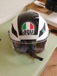 capacete agv blade aberto
